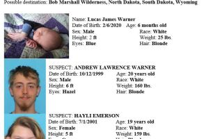 AMBER Alert issued for abducted infant in Flathead County