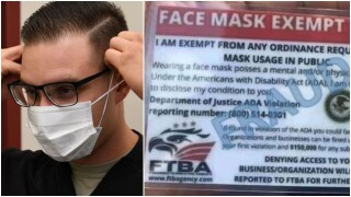 Scam alert: Face mask exemption cards with DOJ seal are fake, agency says