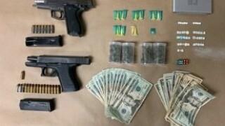 gun and drug seizure
