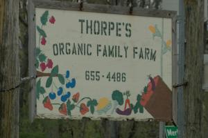 Thorpe's Organic Family Farm