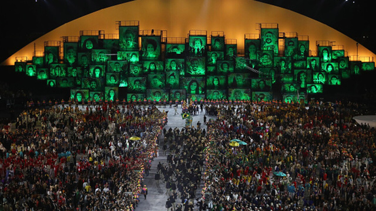 2016 Summer Olympics Opening Ceremonies in Rio