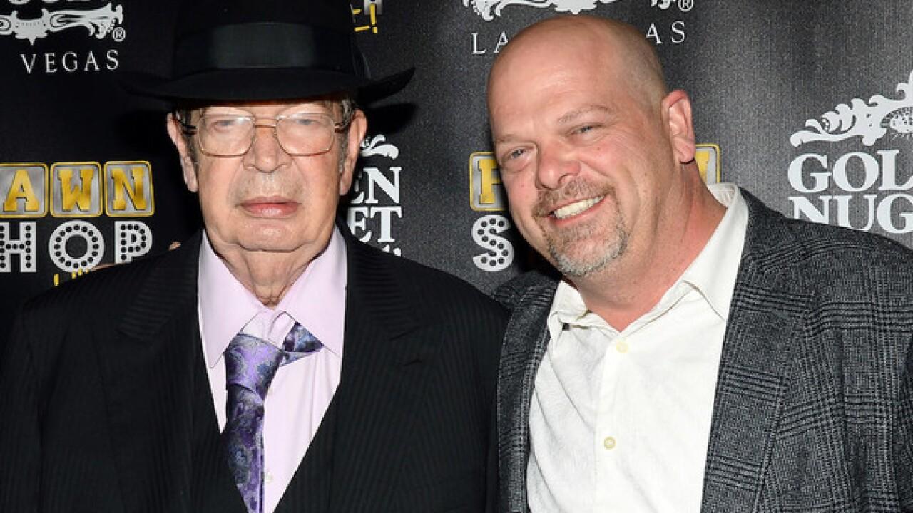 Richard Harrison of 'Pawn Stars' dies at 77