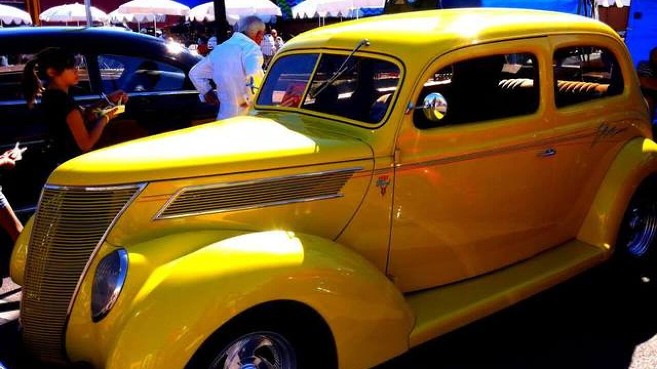 Super Run Classic Car Show pulls into Henderson