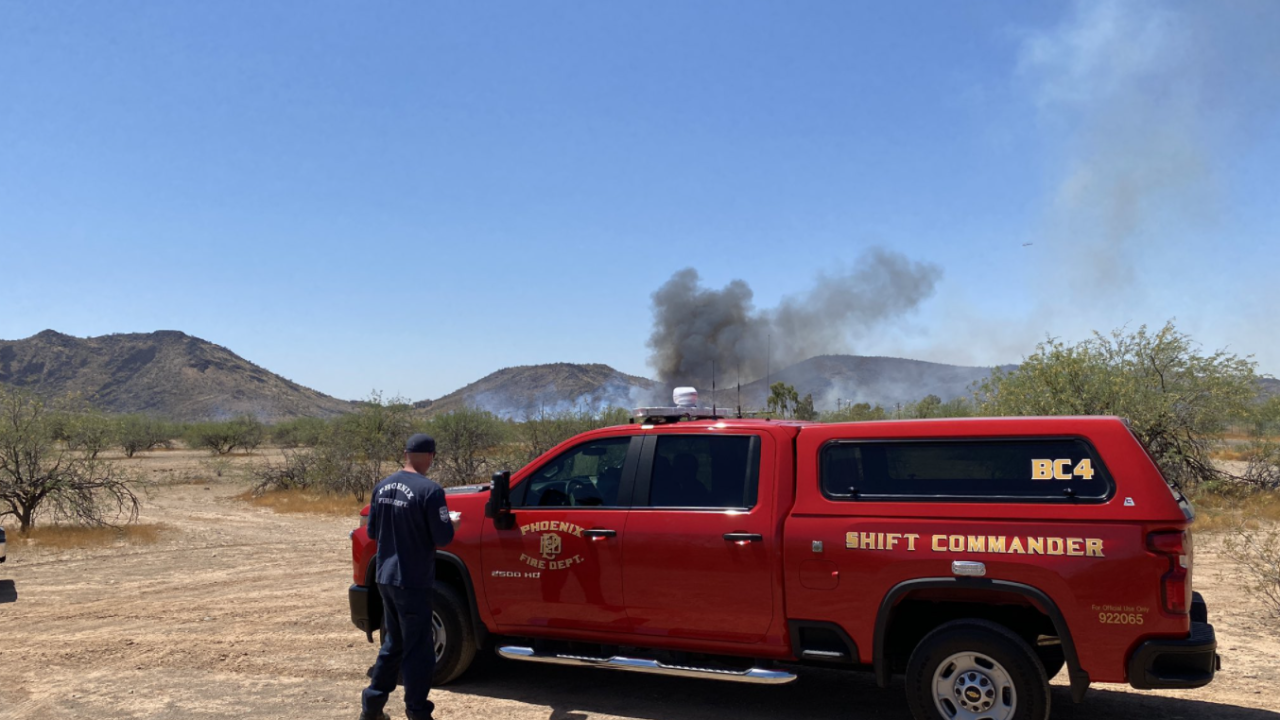 43rd Avenue Brush Fire Second Alarm.png