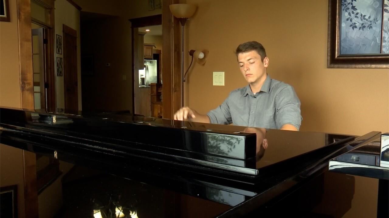 Tanner Jorden piano