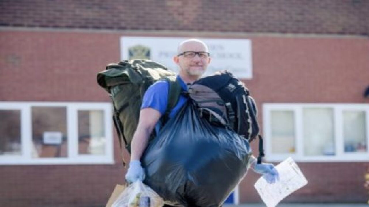 Teacher Walks 5 Miles A Day To Deliver School Lunches To His Students