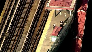 Police investigation at Simpson Street subway station in the Bronx