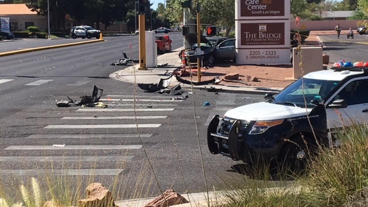 Child dies in three-vehicle crash Friday morning
