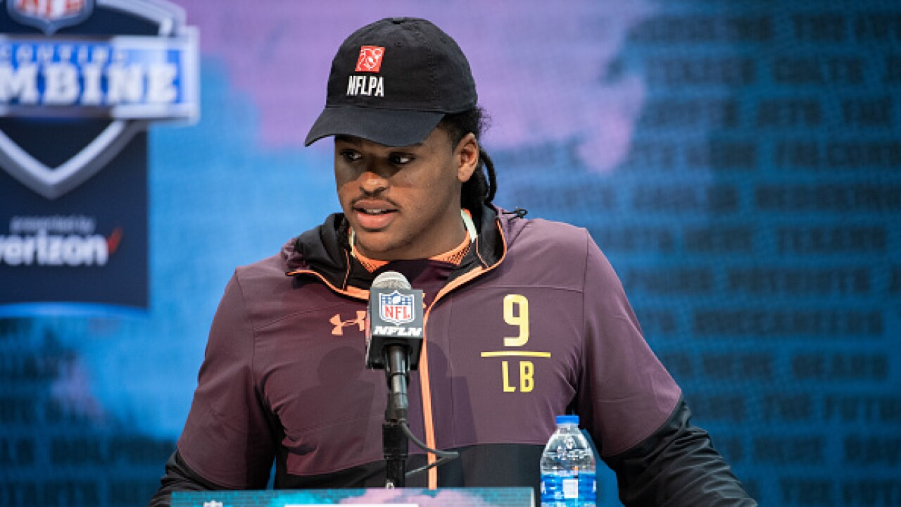 Devin Bush Draft combine
