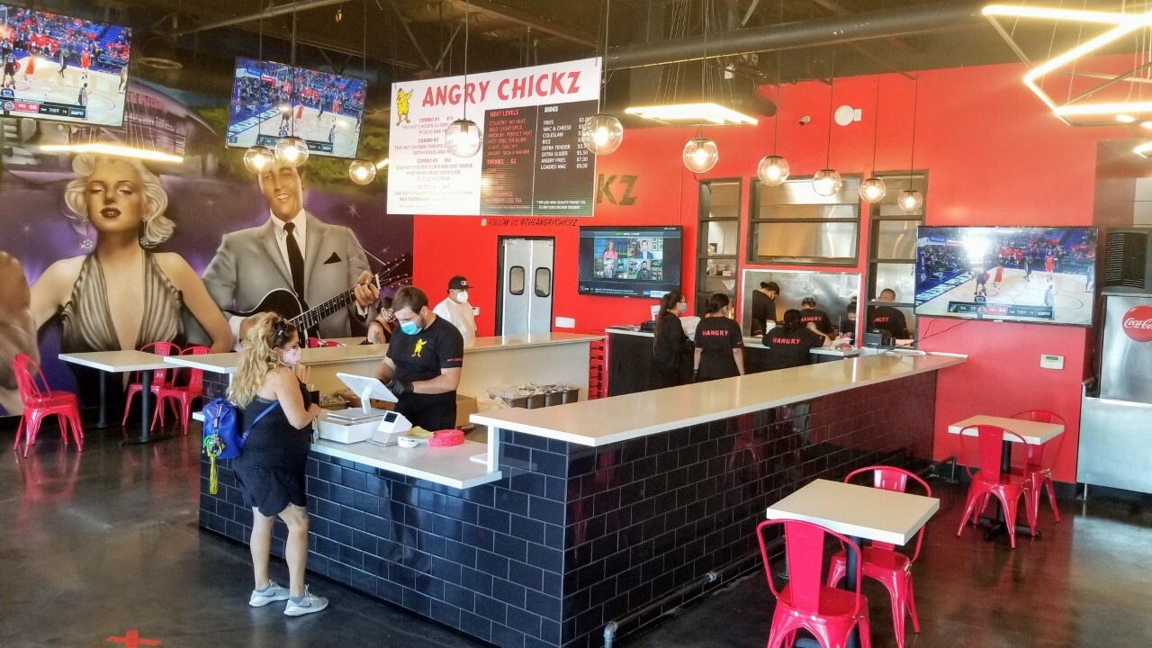 The Angry Chickz opens grand opening Friday
