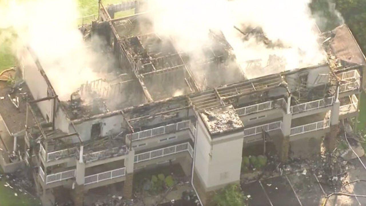 Photos: Fire Destroys Center Hill Lake Condos