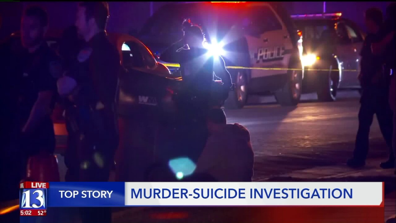 Murder-suicide investigation continues in Midvale