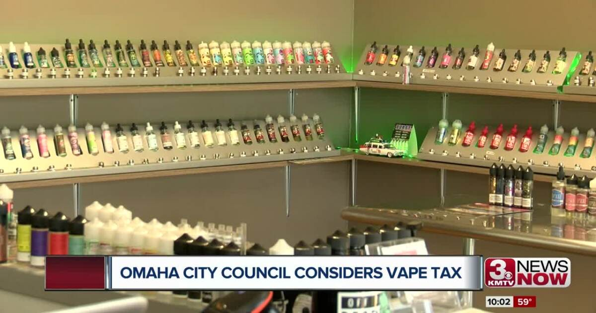 Omaha council considers taxing vape products