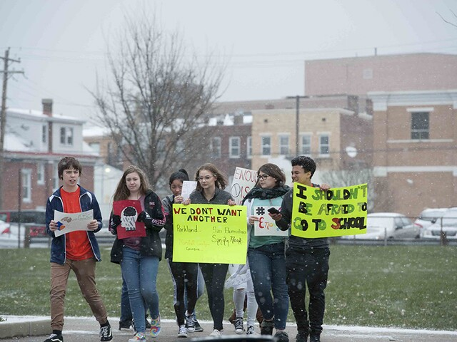 Tri-State students honor Florida shooting victims with school walkouts