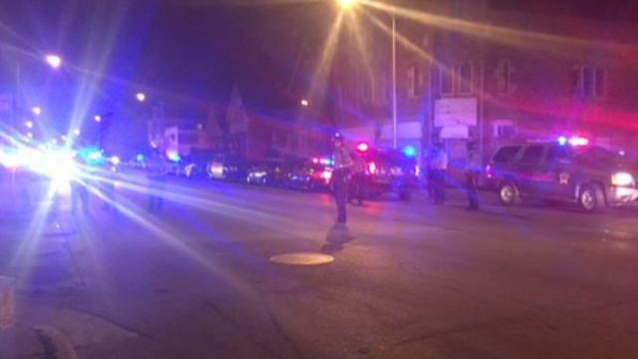 Bricks thrown at police at Milwaukee park