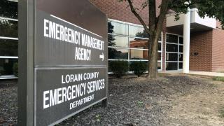 Lorain County 911 dispatch center