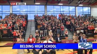 Food Fight Friday: Belding High School raises thousands for Feeding America West MI