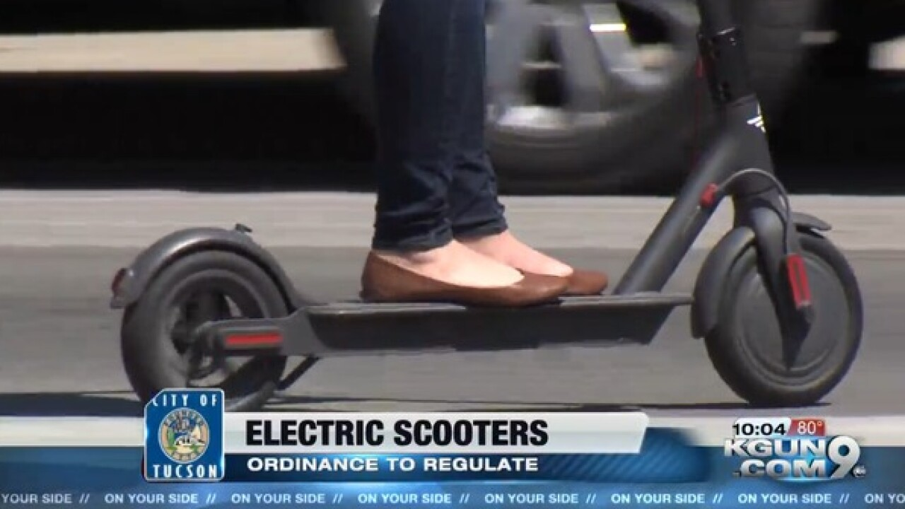 Tucson City Council says no to e-scooters
