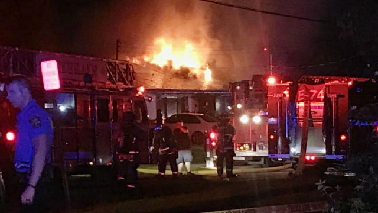 Two people hurt in Colerain Township house fire