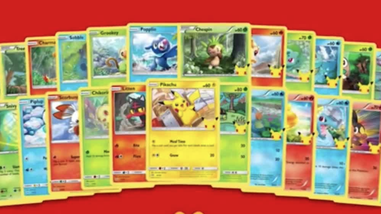 mcdonalds pokemon cards