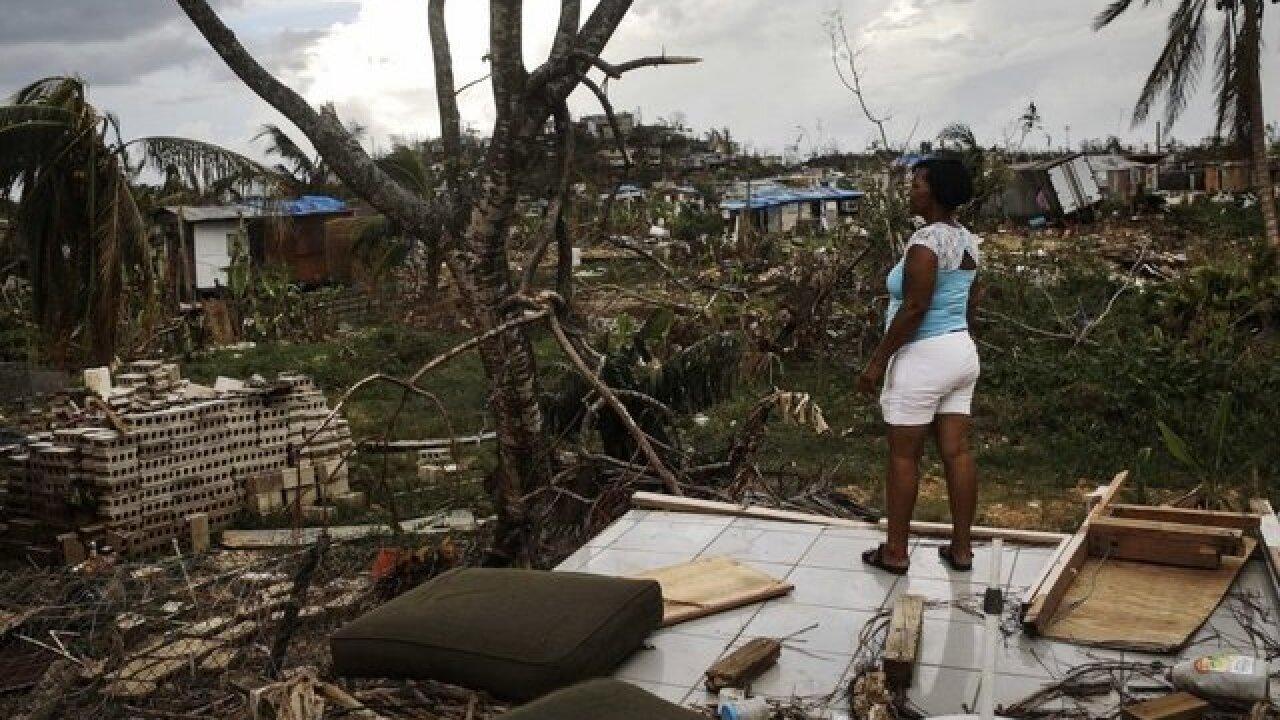 One-year anniversary of Hurricane Maria hitting Puerto Rico