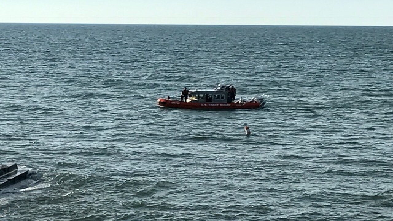 Dive crews investigate suspected drowning
