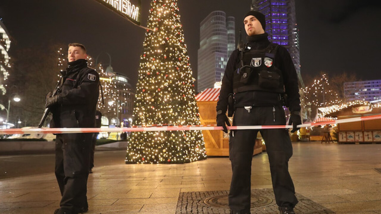 Berlin Christmas market attack suspect killed in Italy