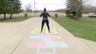 Physical Education teacher hosts virtual gym class