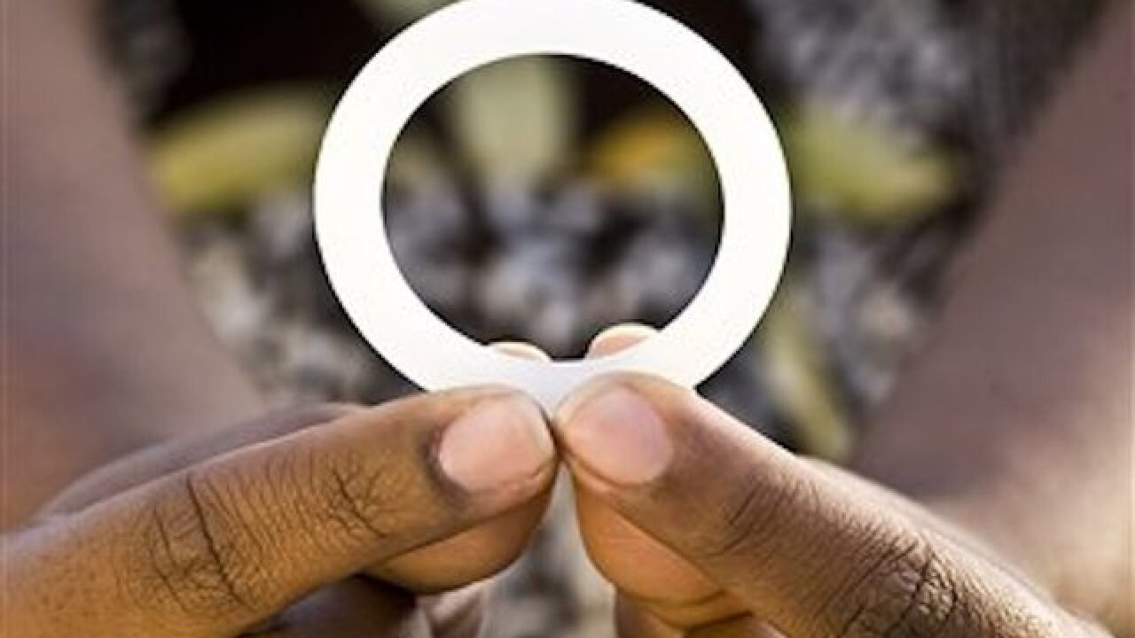 Study finds anti-AIDS ring partially protects