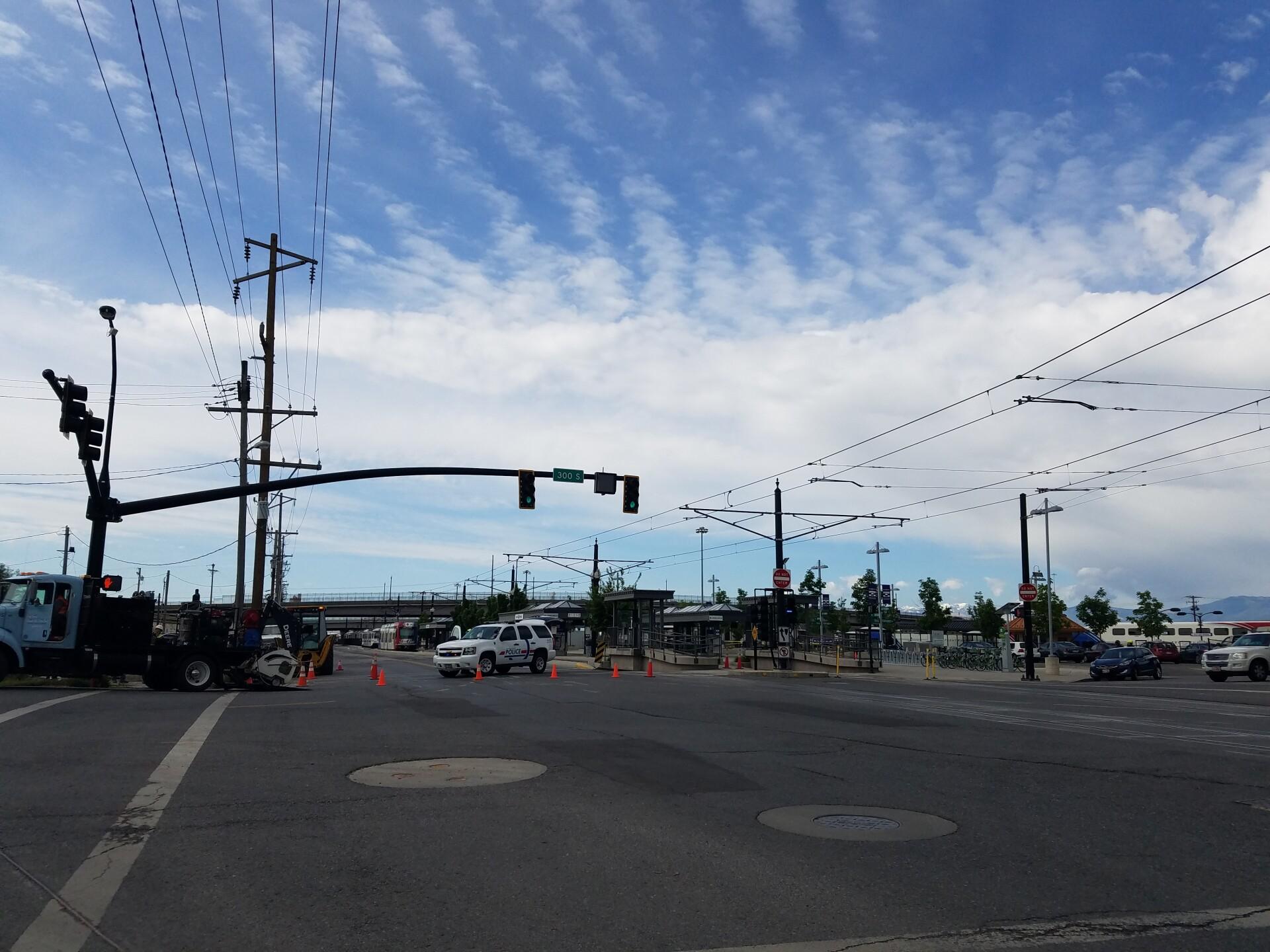 Photos: 'Suspicious item' closes Salt Lake Central TRAXstation