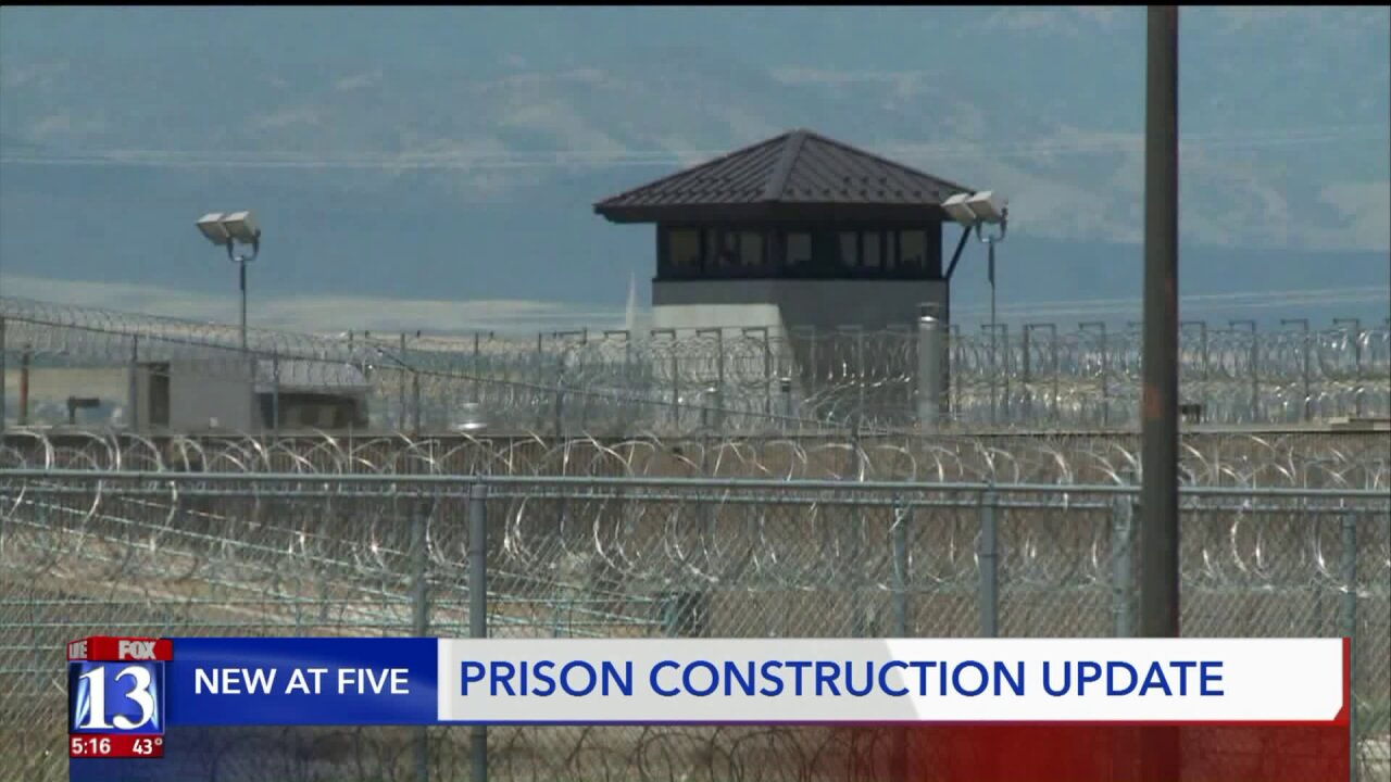 Progress on new prison construction may be slow now, but that could change very soon