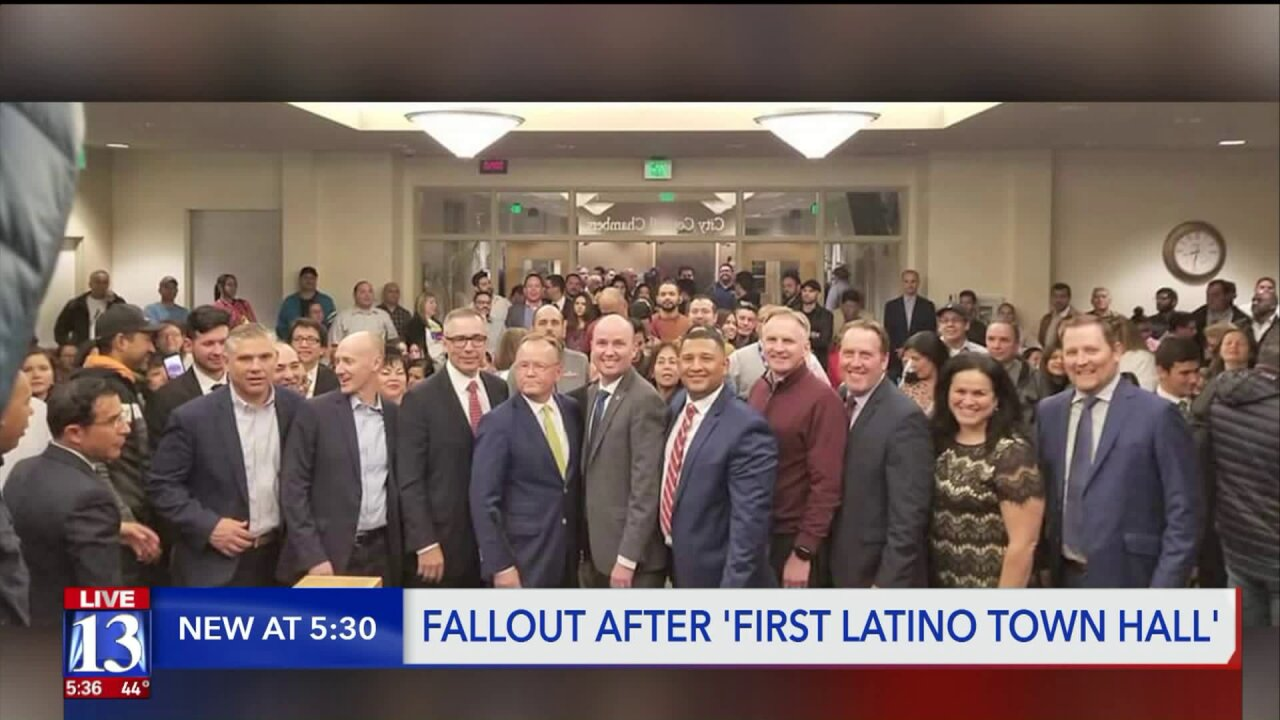 Utah's Latino lawmakers say they weren't invited to 'First Latino TownHall'