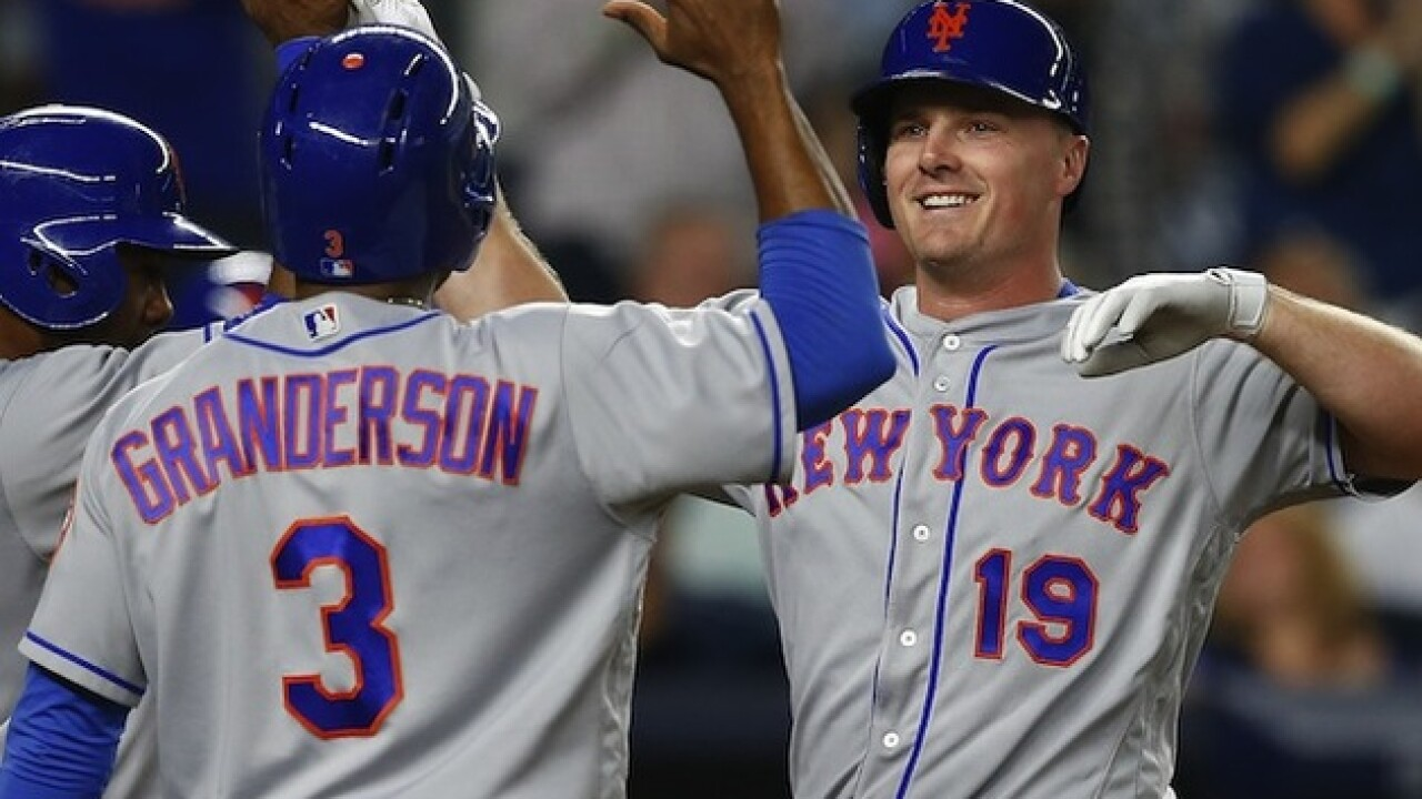 Jay Bruce breaks 0-for-10 Mets  slump with game-winning homer to beat Yankees