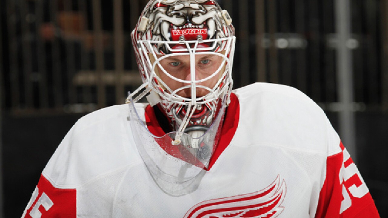 Red Wings playoff schedule set