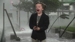 VIDEO: The most epic weather report from a Nashville kindergartner
