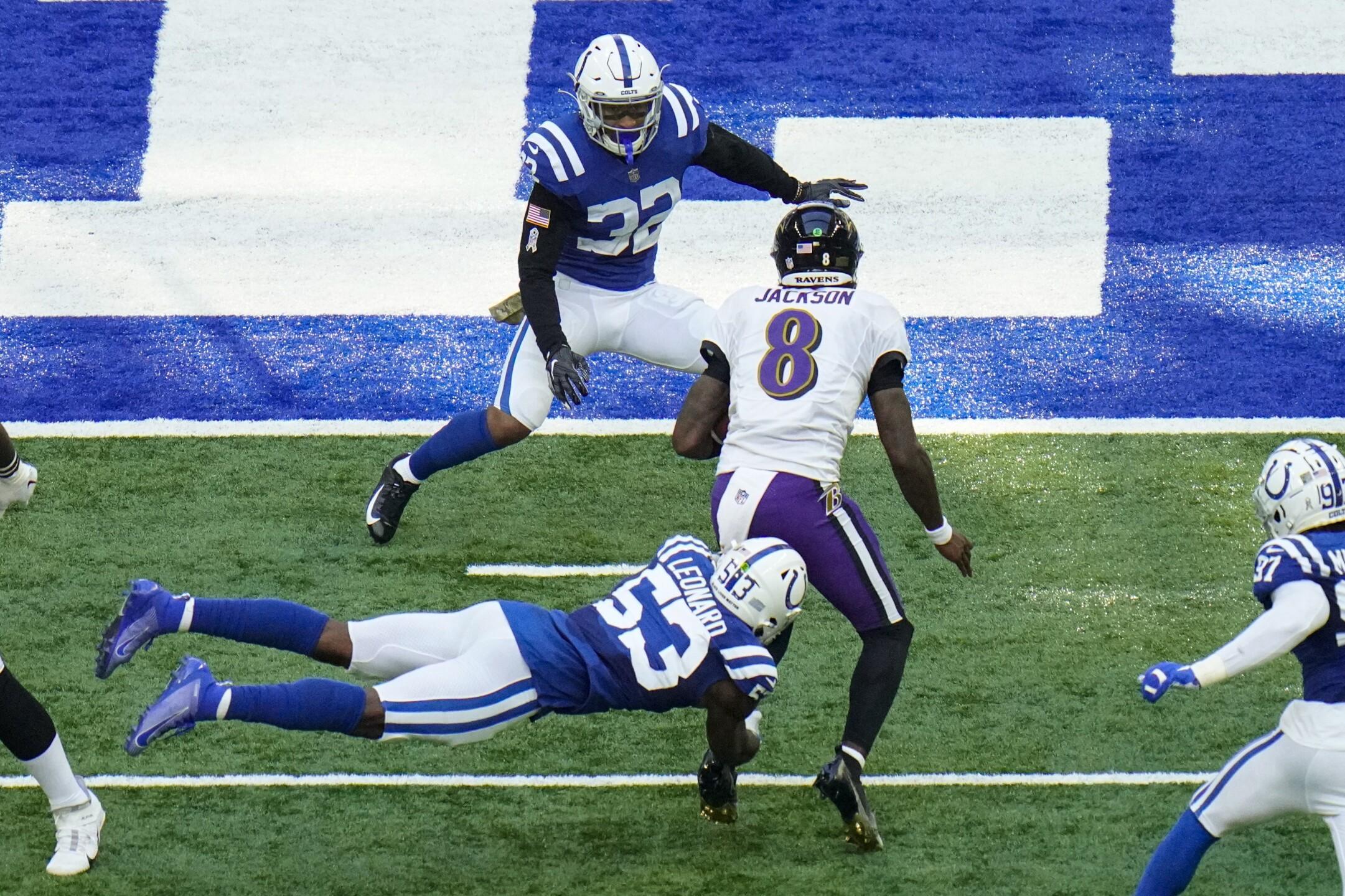 Ravens Colts Football