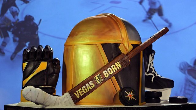 PHOTOS: Vegas Golden Knights-inspired items at local businesses