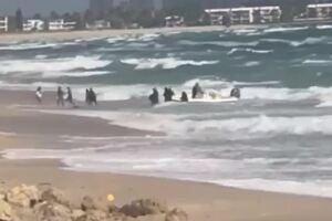 EXCLUSIVE VIDEO: Immigrants come ashore on Palm Beach