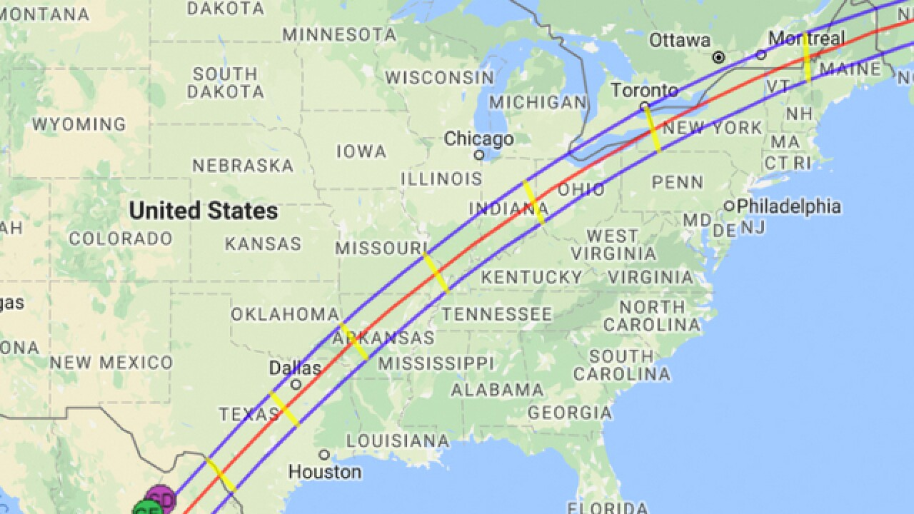 solar eclipse map florida The Next Total Solar Eclipse Will Be In 2024