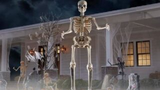 Home Depot Is Selling A 12-foot Skeleton For Halloween