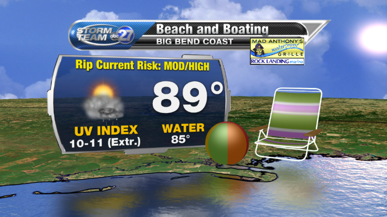 Beach and Boating forecast B (07/28/2017)