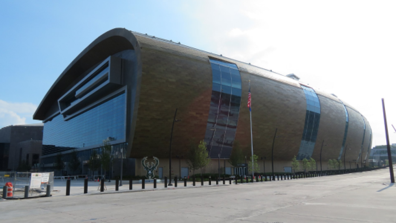 Fiserv Forum in Milwaukee, which might host the 2020 Democratic National Convention