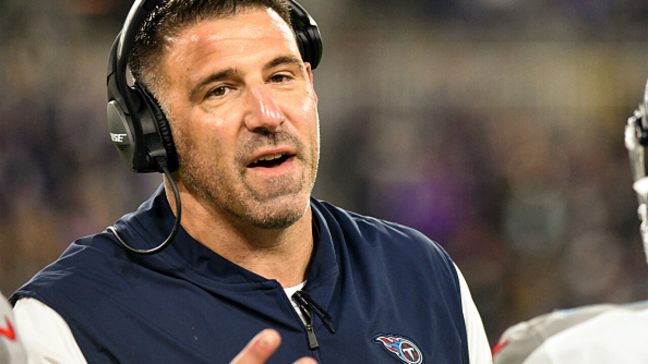 Titans' gamble hiring Mike Vrabel as coach close to paying off