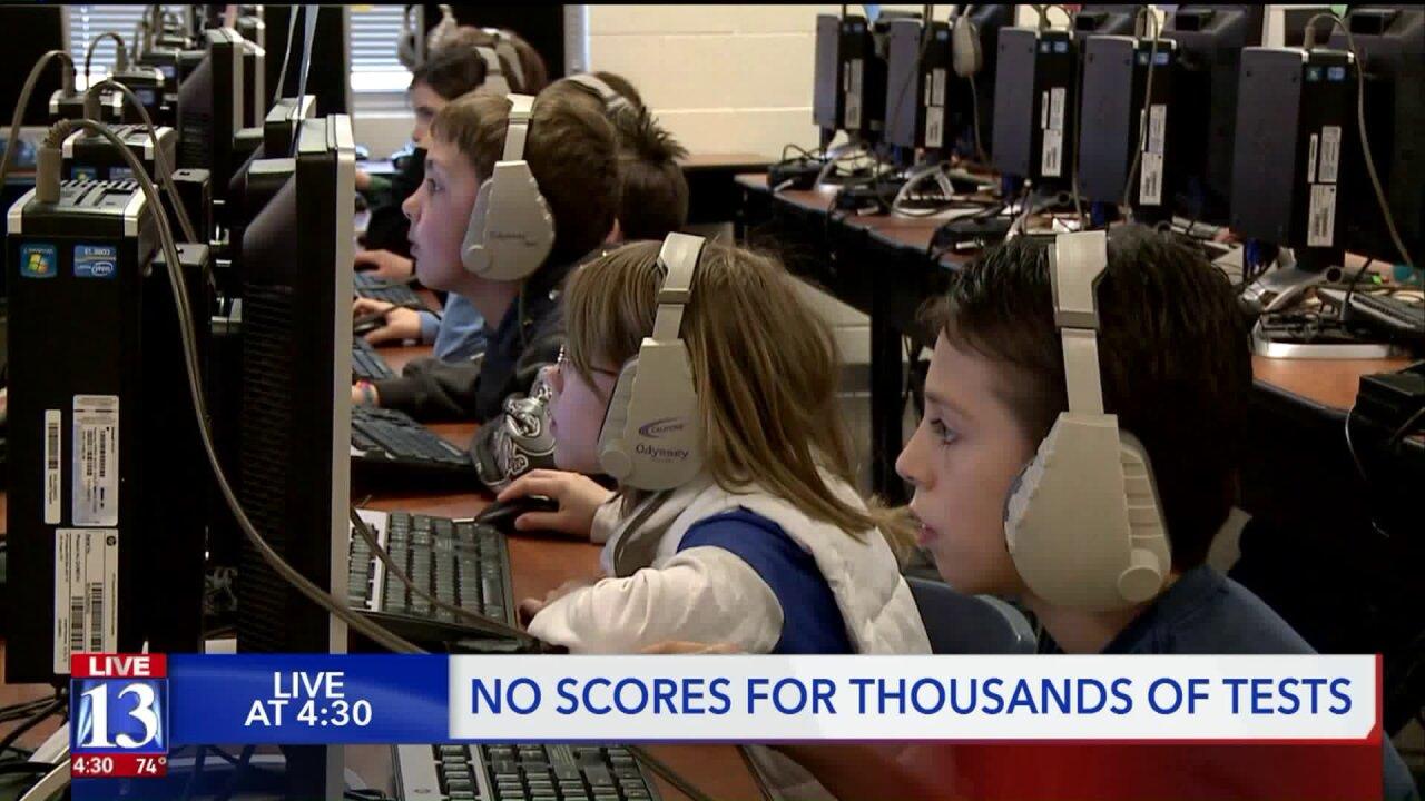 Audit reveals more than 3,000 scoreless standardizedtests