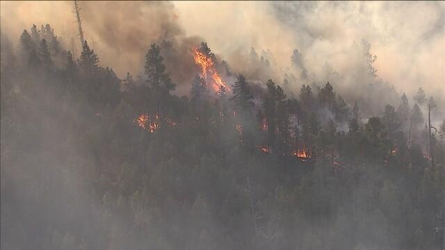 Tinder Fire burning in northern Arizona (PHOTOS)
