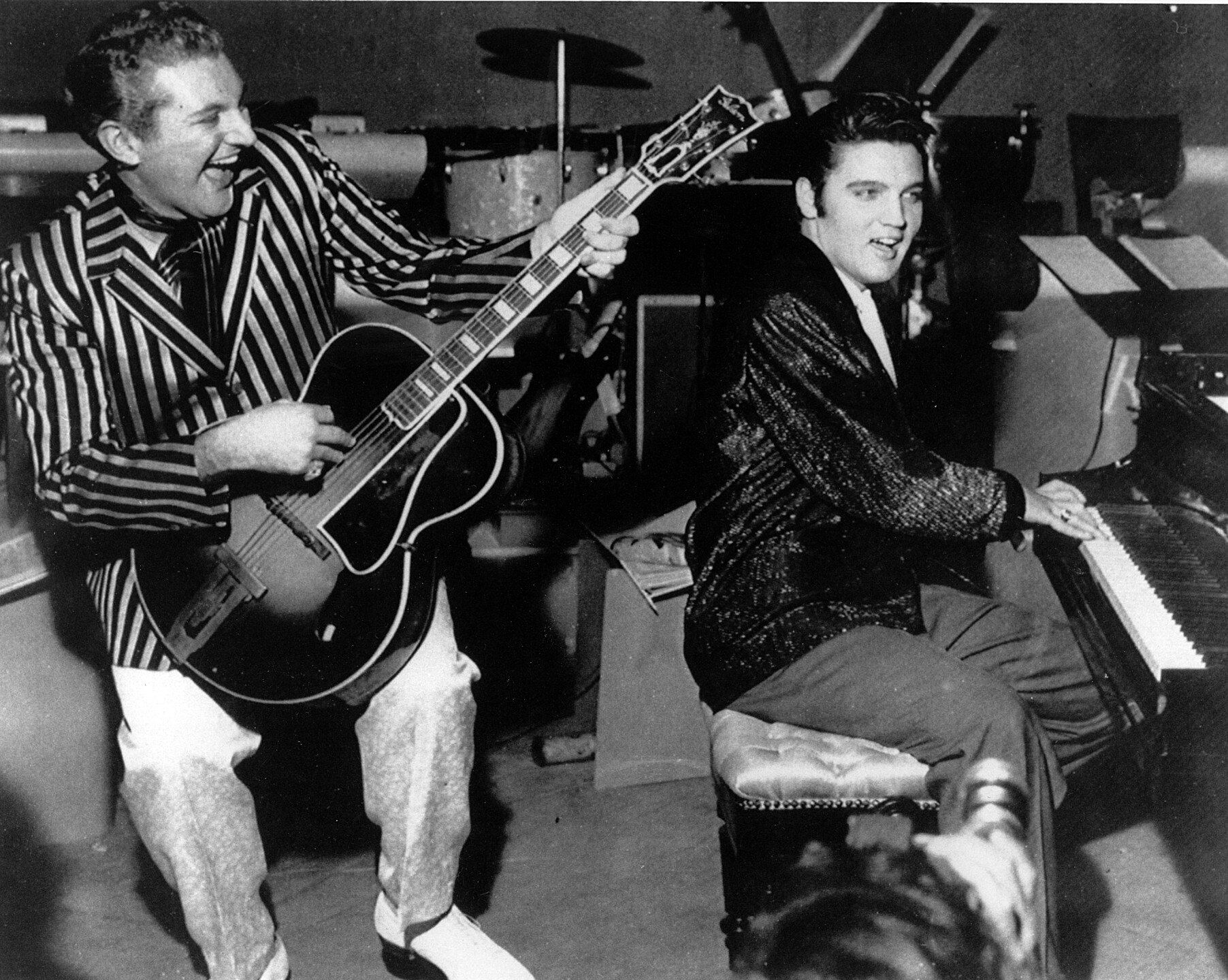 LIBERACE AND ELVIS PRESLEY