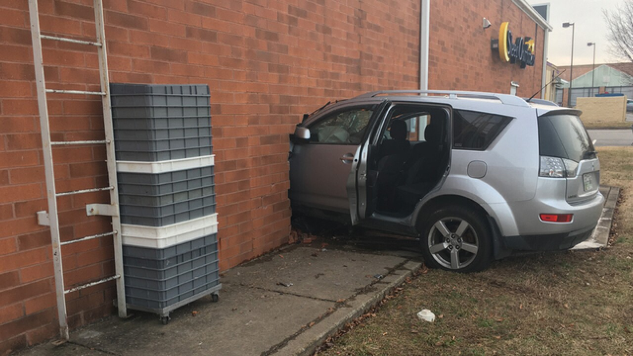 Vehicle Crashes Into Business On Lebanon Pike