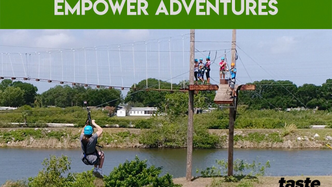 Empower Adventures: Zip line fun in Tampa Bay
