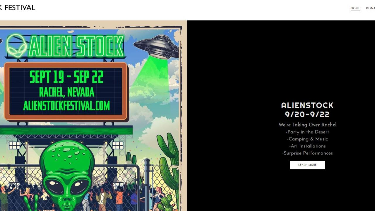 Alien Stock being planned after Storm Area 51 Facebook event goes viral