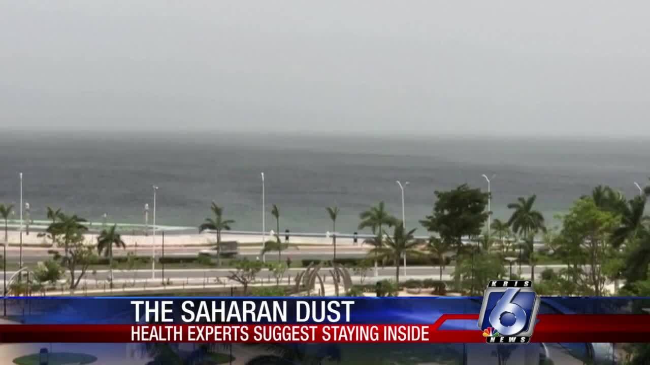 Saharan dust blows through Coastal Bend
